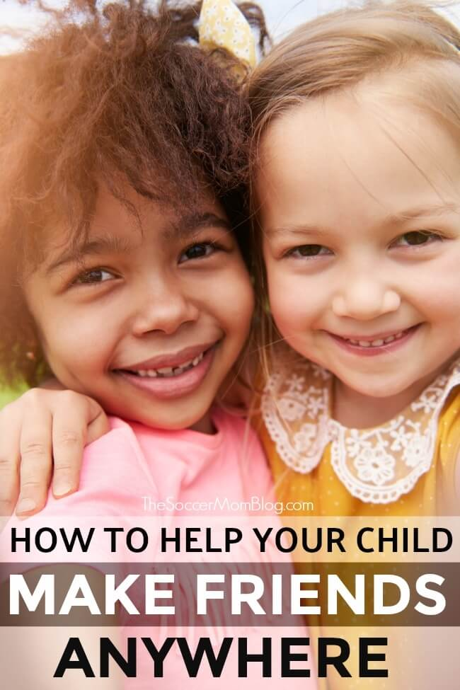 If you've ever wondered how to help your child make friends, it's time to get down to the basics! Keep reading for a simple, but often forgotten life skill.
