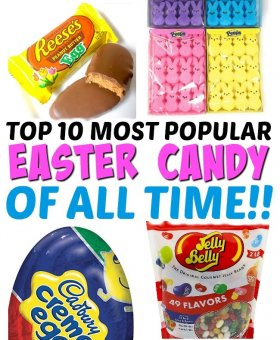 The BEST Easter Candy – We Surveyed 10,000 People to Find Out!