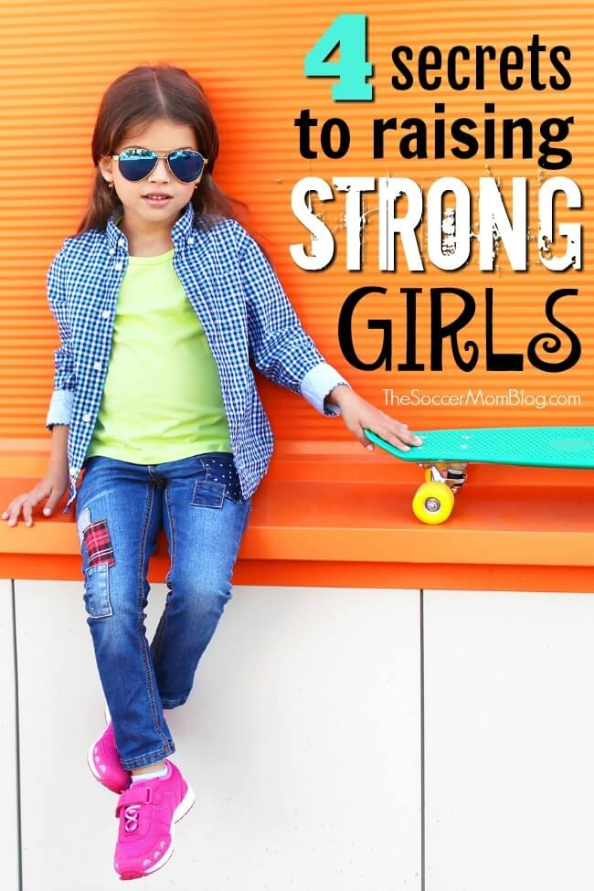 What is the number one predictor of a young girl's future success? It's not money or a fancy education. Raising strong daughters requires a strong mother.