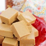 This 2-ingredient Cookie Butter Fudge is so simple, and so delicious!