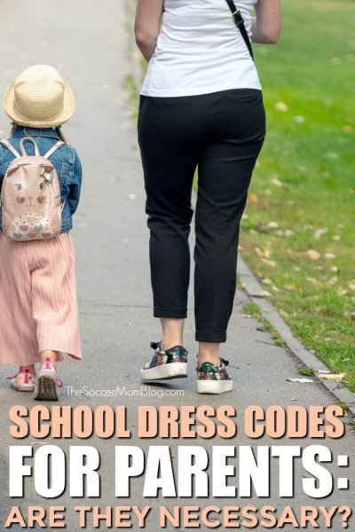 More and more schools are enforcing dress codes for parents, but is it necessary?