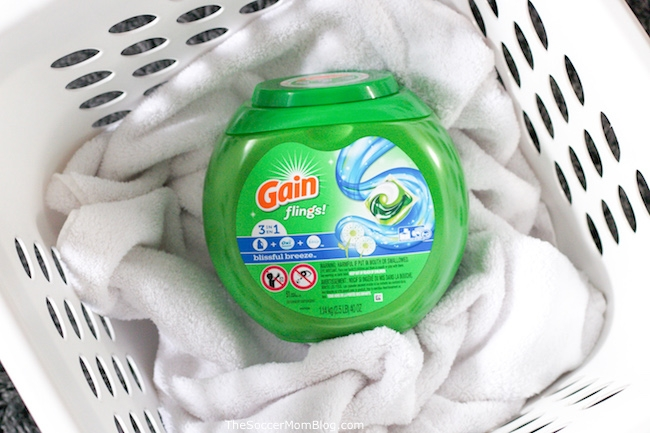 Learn how to get mildew smell out of clothes with simple household products.