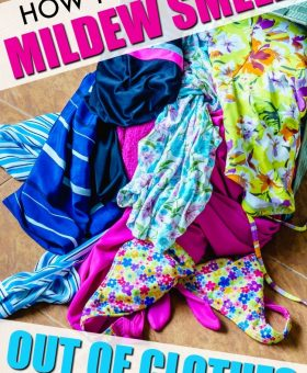 How to get Mildew Smell out of Clothes (This Really WORKS)