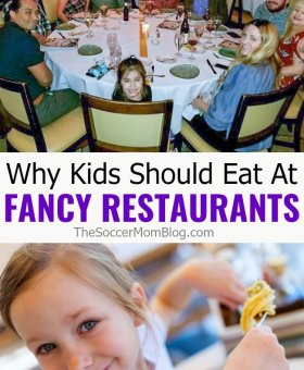 Why We Go Out to Eat with Kids at Fancy Restaurants