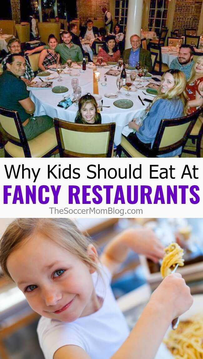 Skip the babysitter! Here's why you should go out to eat WITH kids instead of leaving them at home. (And why restaurants banning kids are out of line!)
