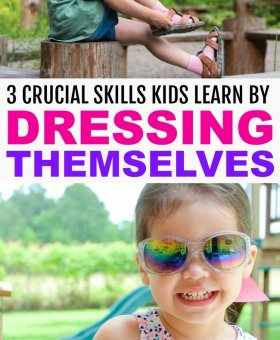 Why Kids who Dress Themselves Are Smarter, More Independent Adults