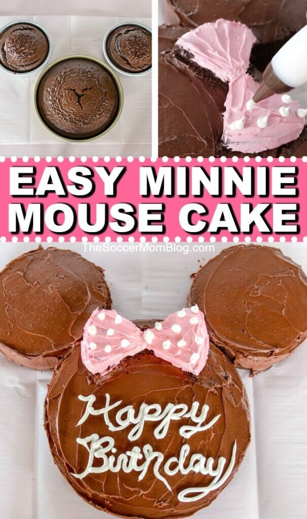 Miraculous How To Make A Minnie Mouse Birthday Cake Video Funny Birthday Cards Online Alyptdamsfinfo