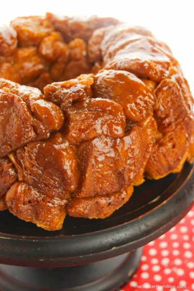 This Mom's Monkey Bread Recipe makes a delicious pull-apart treat for the whole family!