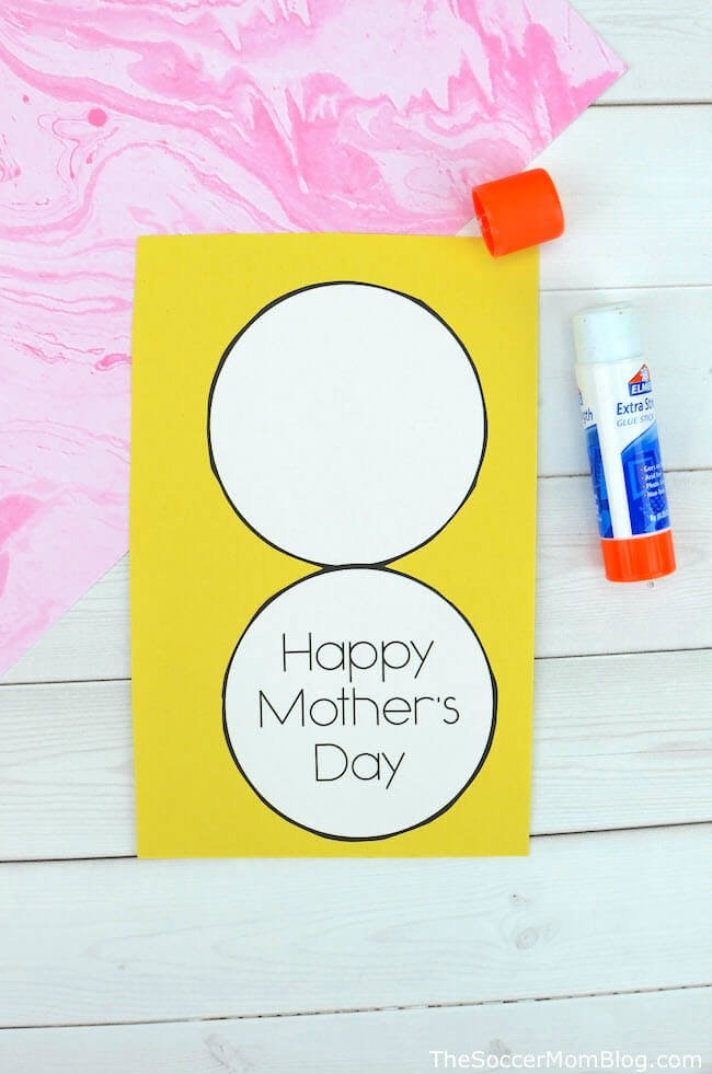 pineapple Mother's day card craft tutorial