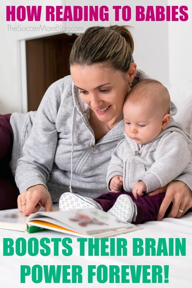 Think that reading aloud to babies is a waste of time? Think again!