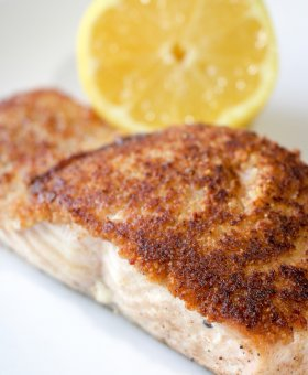 California Walnut Crusted Salmon