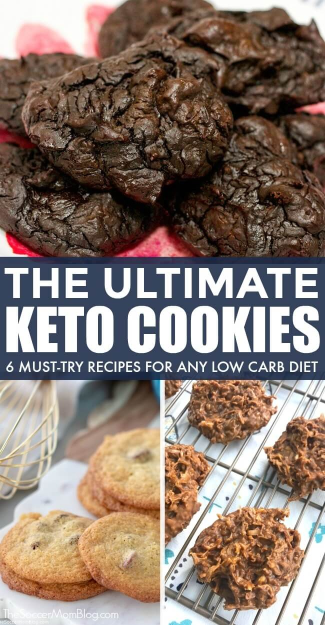 You have to taste them to believe them! These are the BEST keto cookie recipes — 6 easy keto cookies that are a must-try for anyone on a low carb diet!