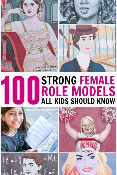 Girls rule! You'll love this collection of more than 100 strong female role models to inspire our daughters - and all kids!
