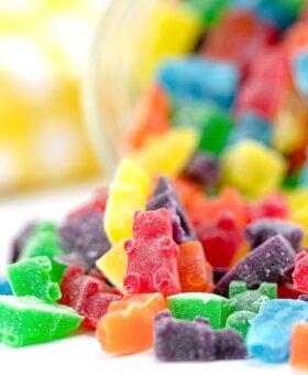 Easy Homemade Gummy Bears