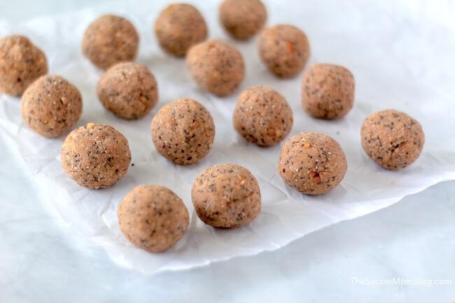 keto protein balls recipe
