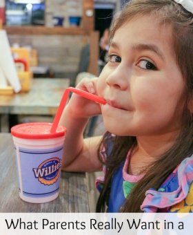 What Parents Really Want from Kid Friendly Restaurants