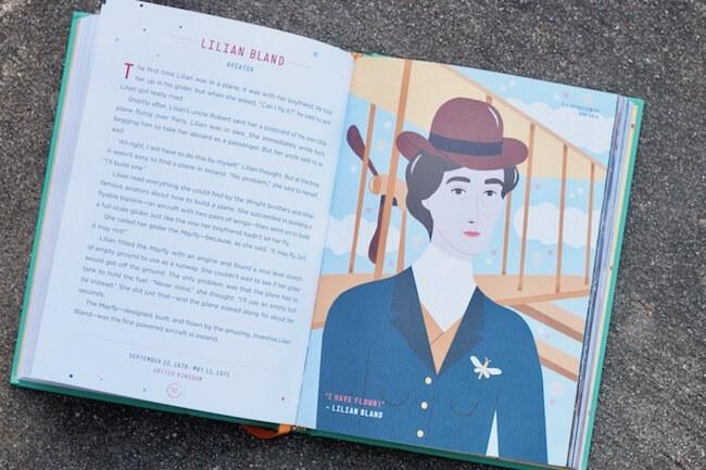 sneak peek inside Good Night Stories for Rebel Girls Volume 2