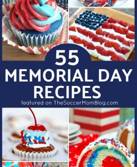 55 Memorial Day Recipes – Patriotic Desserts, Easy Apps, and More!