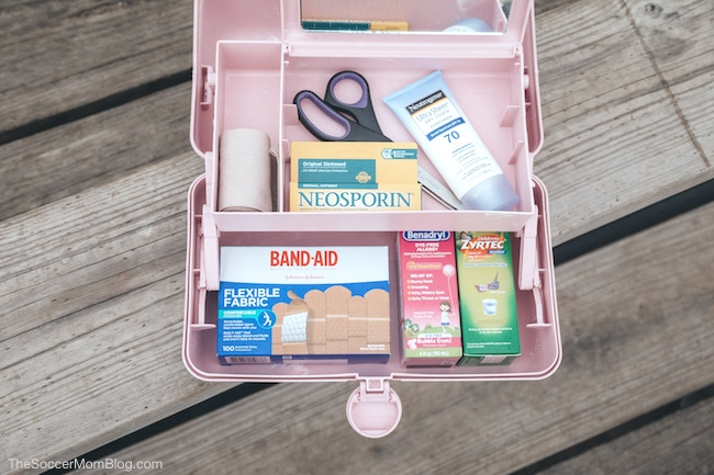 10 essential items to include in a first aid kit for soccer teams