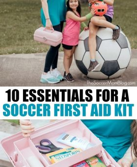 10 Essentials for a Soccer First Aid Kit