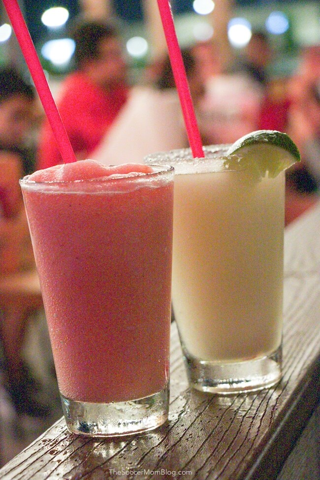 Frosé frozen drinks at Willie's Grill and Icehouse