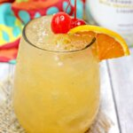 You'll have a hard time believing you're not at the beach when you drink this awesome Banana Rum Punch!