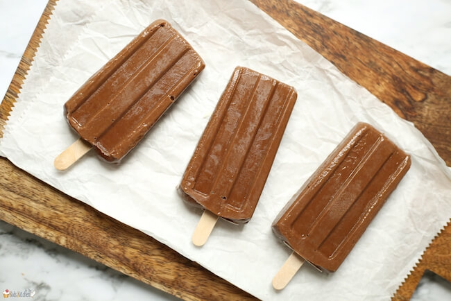 Creamy Avocado Fudgesicles
