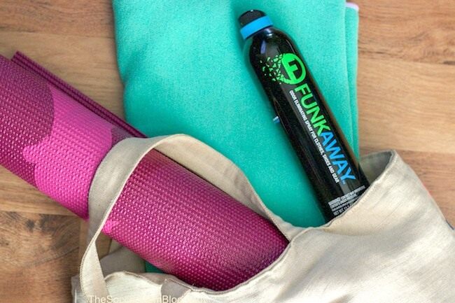 How to get the sweat smell out of yoga clothes