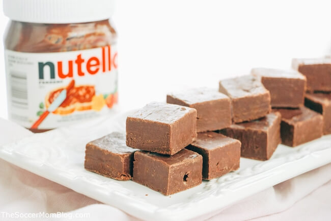 Nutella fans rejoice!! This no bake Nutella fudge is beyond easy and oh-so-delicious! Only 3 ingredients!
