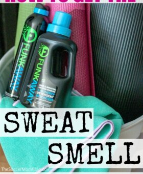 How to Get the Smell Out of Workout Clothes – For Good!