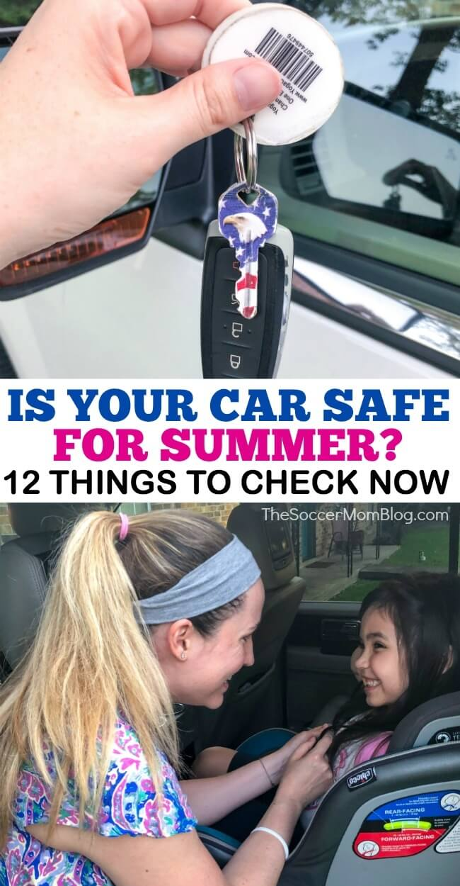 Summer weather is tougher on your car than winter ice and snow — but our printable summer car care checklist will make sure you know how to beat the heat!