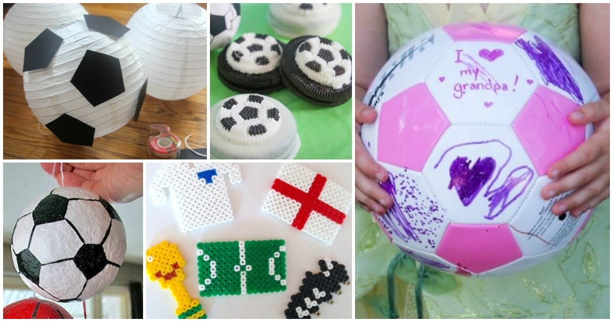 Kid Made Soccer Gifts Crafts Recipes More The Soccer Mom Blog