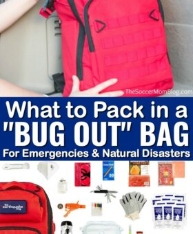 FREE Bug Out Bag Checklist – Know What to Pack for a Hurricane