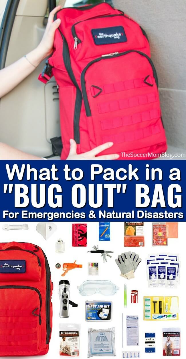 Learn what to pack in a bug out bag for emergencies and make sure you're ready for anything with our printable bug out bag checklist!