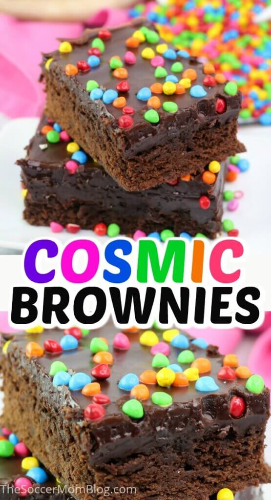 If you love the classic Little Debbie treats as much as we do, you'll get a kick out of these homemade Cosmic Brownies!