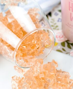 Rosé Gummy Bears Recipe