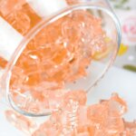 Rosé gummy bears are the sweetest grown-up treat! Super cute way to enjoy your favorite bubbly!