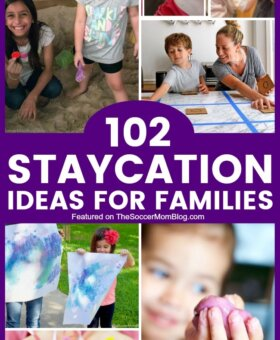 103 Budget-Friendly Staycation Ideas for Families