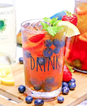 Texas Sweet Tea Sangria
