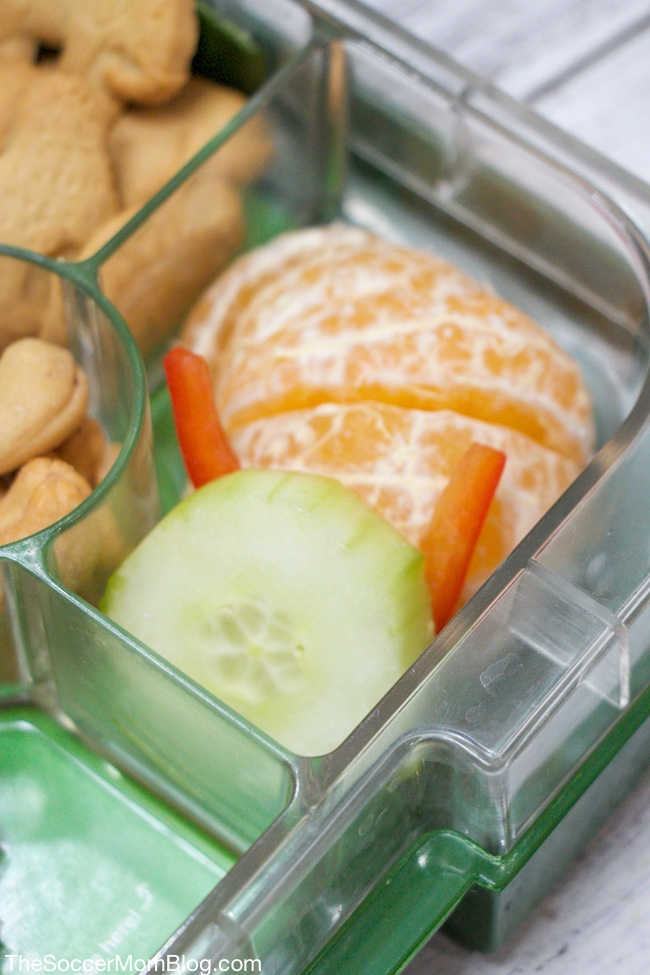 How to make a fun and easy zoo themed lunch for kids.