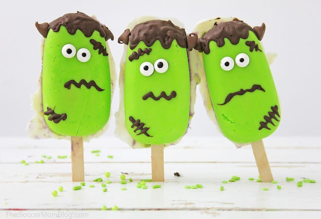 These Frankenstein Cake Pops are spooky, tasty, and fun, all in one!