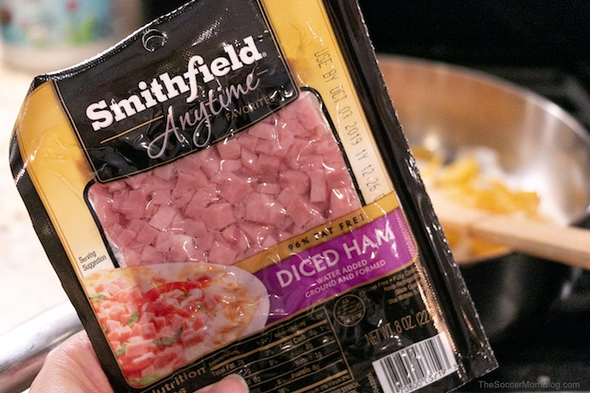 Smithfield Anytime Favorites diced ham