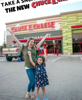 Chuck E. Cheese Has a NEW Look & We've Got the Scoop!