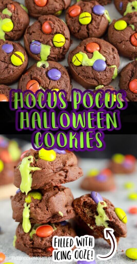 Galletas de Halloween inspiradas en Hocus Pocus