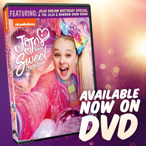 Jojo Siwa: Sweet Celebrations DVD cover