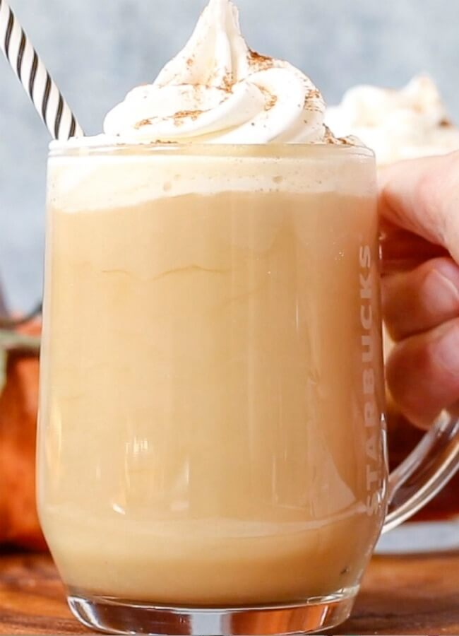 Treat yourself to a decadent Starbucks Cinnamon Dolce Latte any time you want with this spot-on copycat recipe!