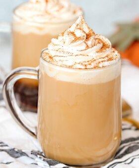 Copycat Starbucks Cinnamon Dolce Latte Recipe