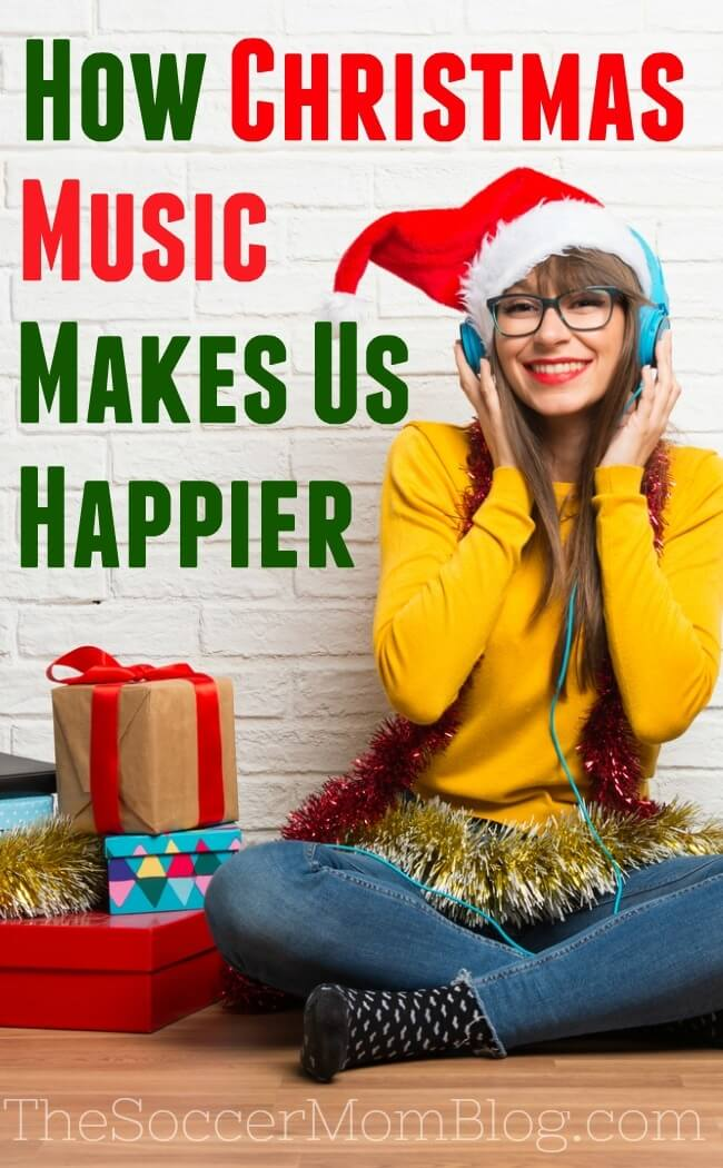 Does Christmas music make you happy? Let's just say there's a reason why so many people start playing Christmas songs as soon as Halloween ends!