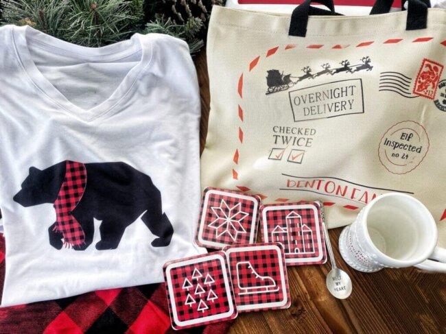 matching family Christmas pajamas DIY