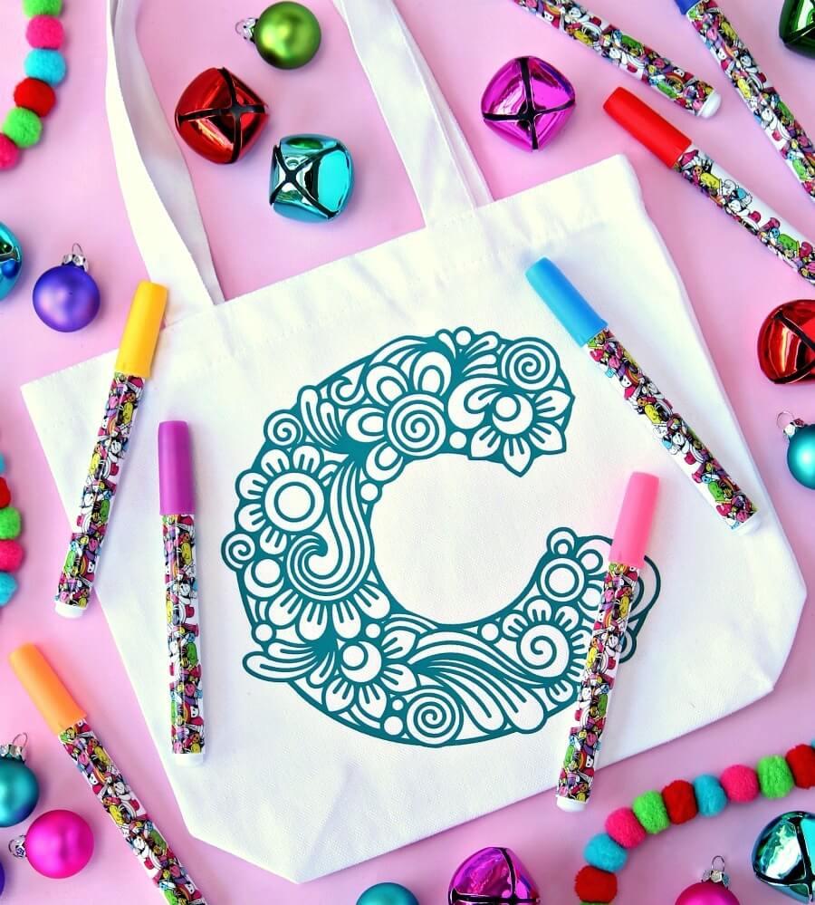 Cricut gift bag idea